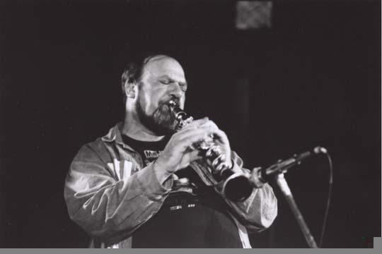Ivo Papasov, Sofia, Bulgaria, 1996. Nikon F2, Tri-X 800ASA.