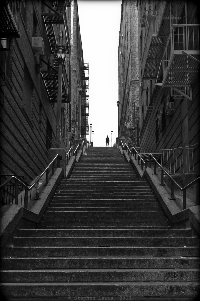 Ascent: The Stairways of the West Bronx, In Memory of Miss