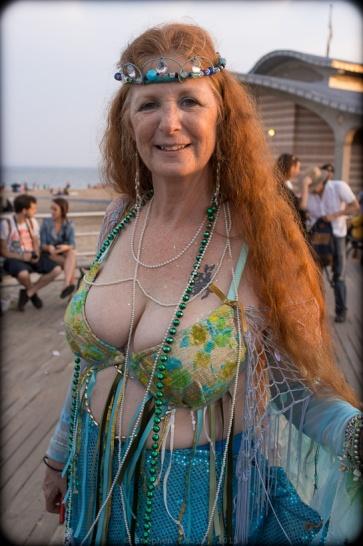 Mermaid, Mermaid Day Parade, 2011 (Fuji X100)
